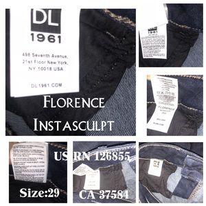 🆕Authentic-DL1961 Florence Instasculpt Jeans